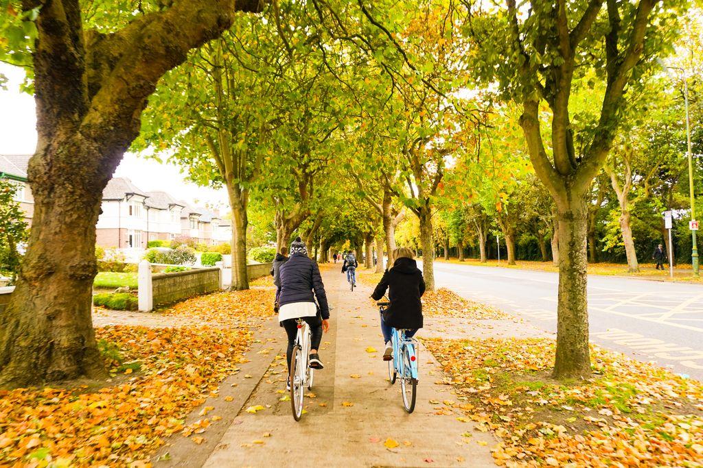 Dublin Bike Tour, Ireland