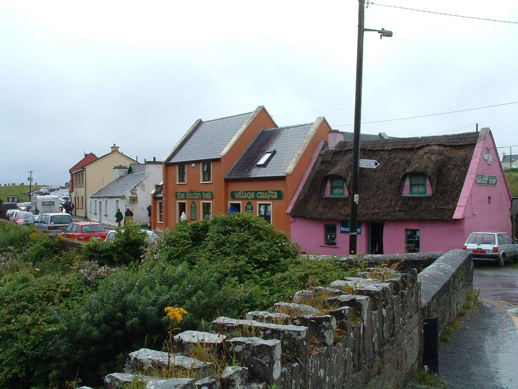 Quaint Village Doolin, Ireland