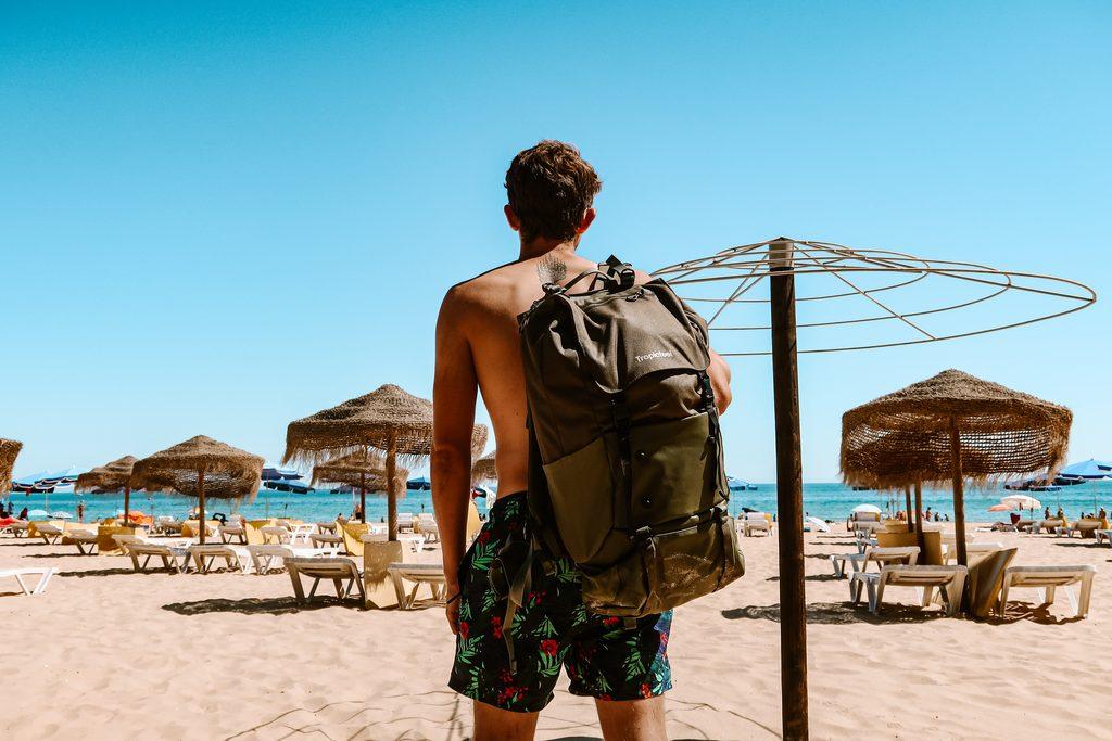 tropicfeel shell backpack waterproof