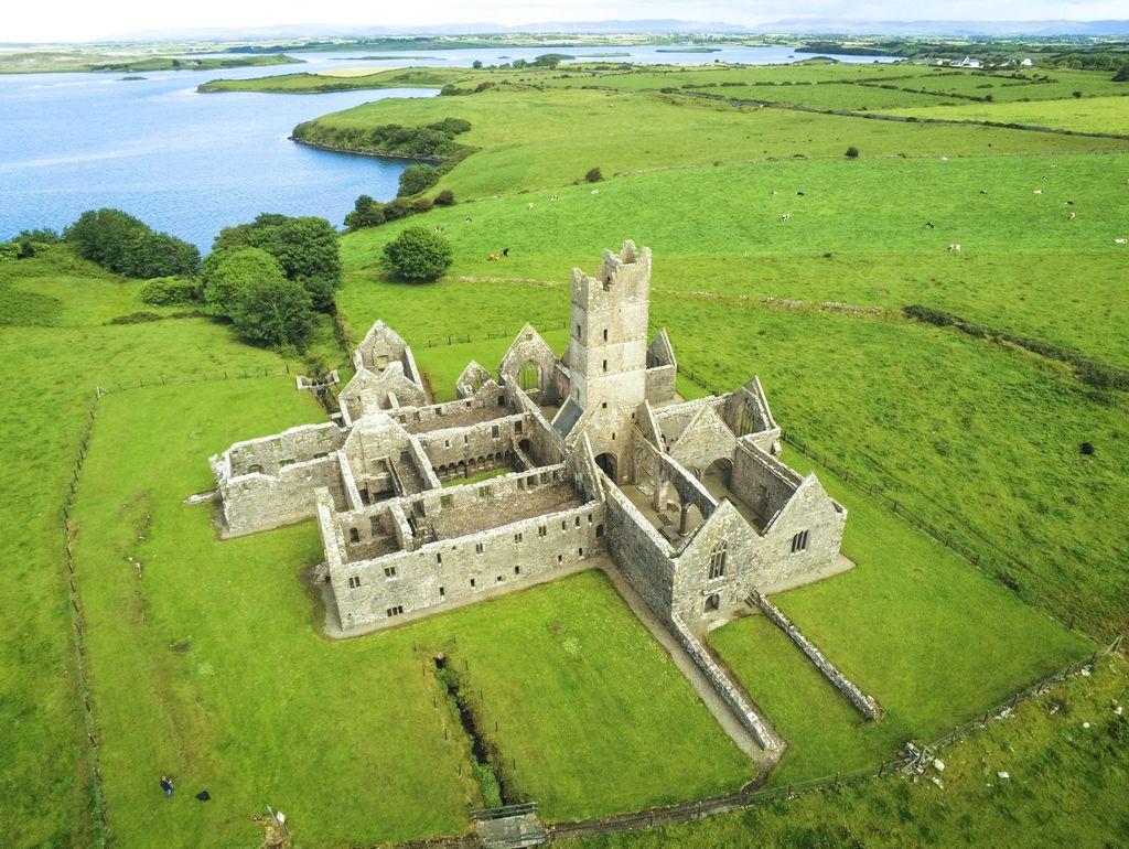 Moyne Abbey, Ireland