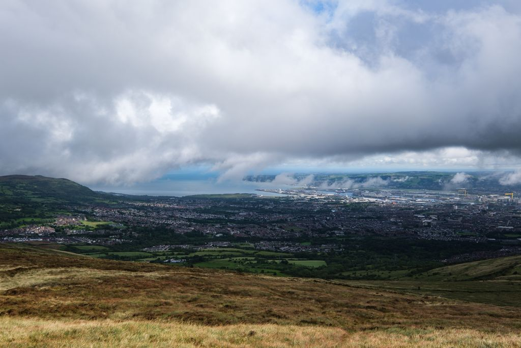 View from Black Mountain, Ireland
