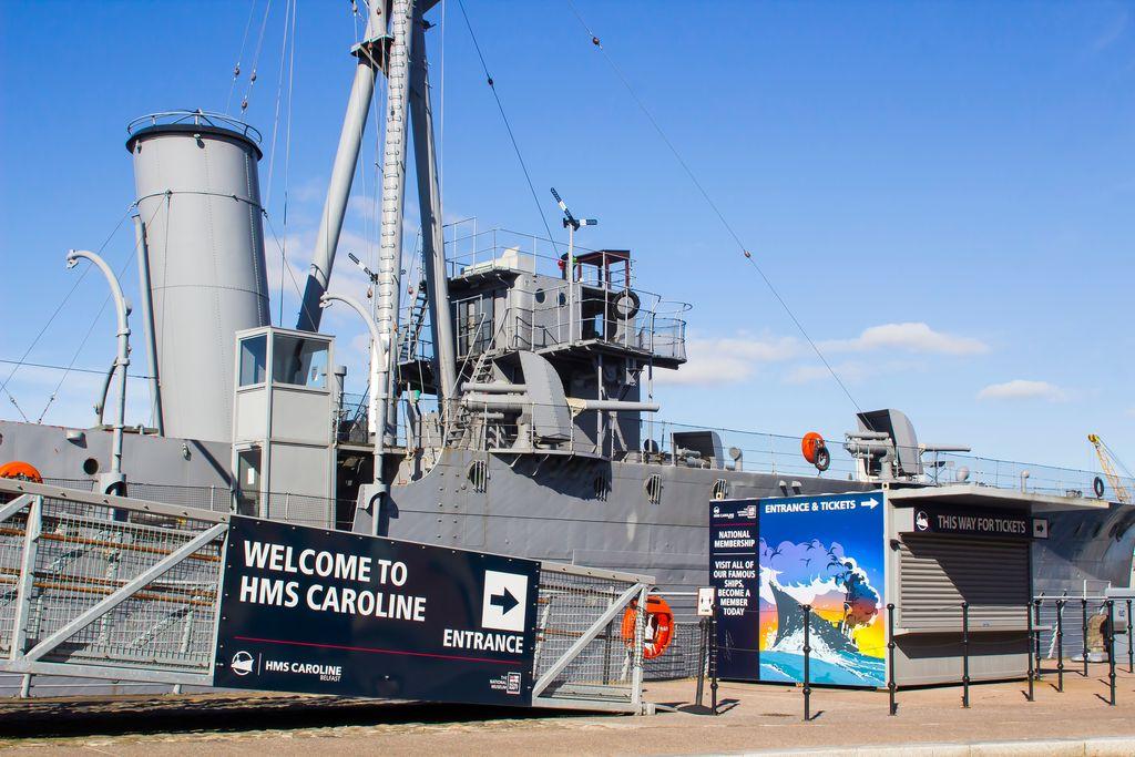 HMS caroline, Ireland