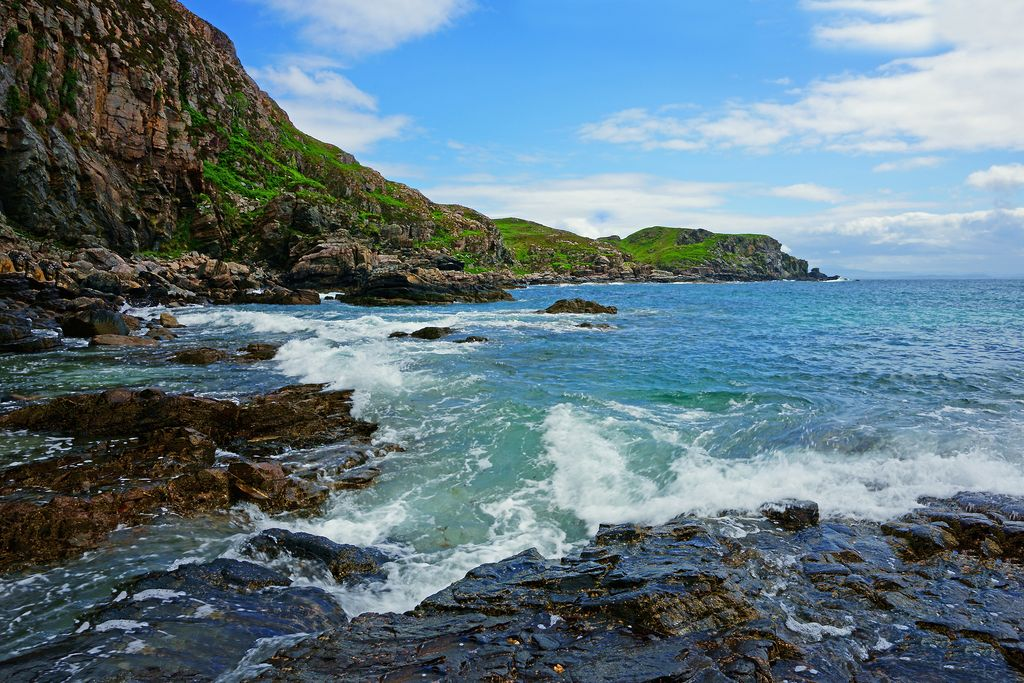 the Point of Sleat, Scotland