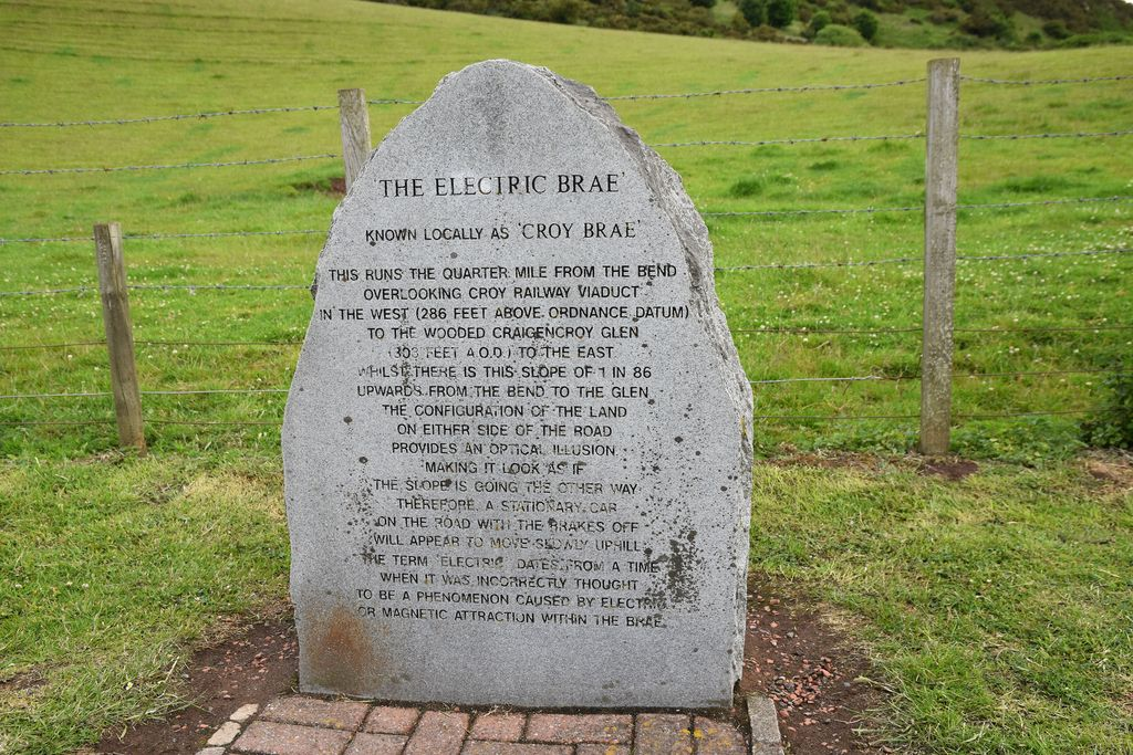 Electric Brae, Scotland