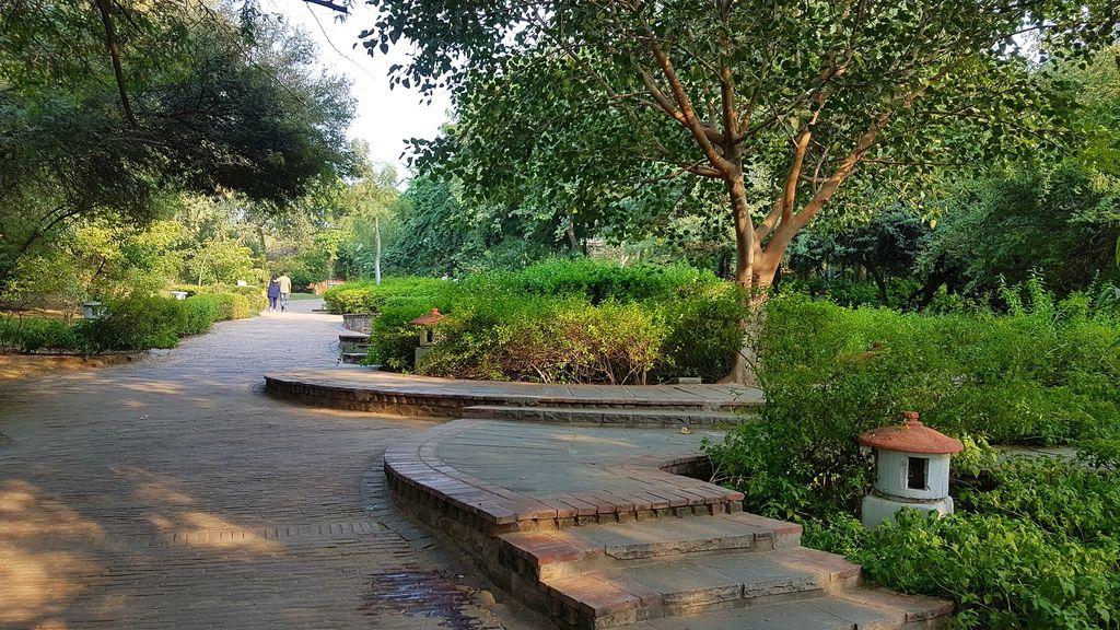 the garden of five senses , India