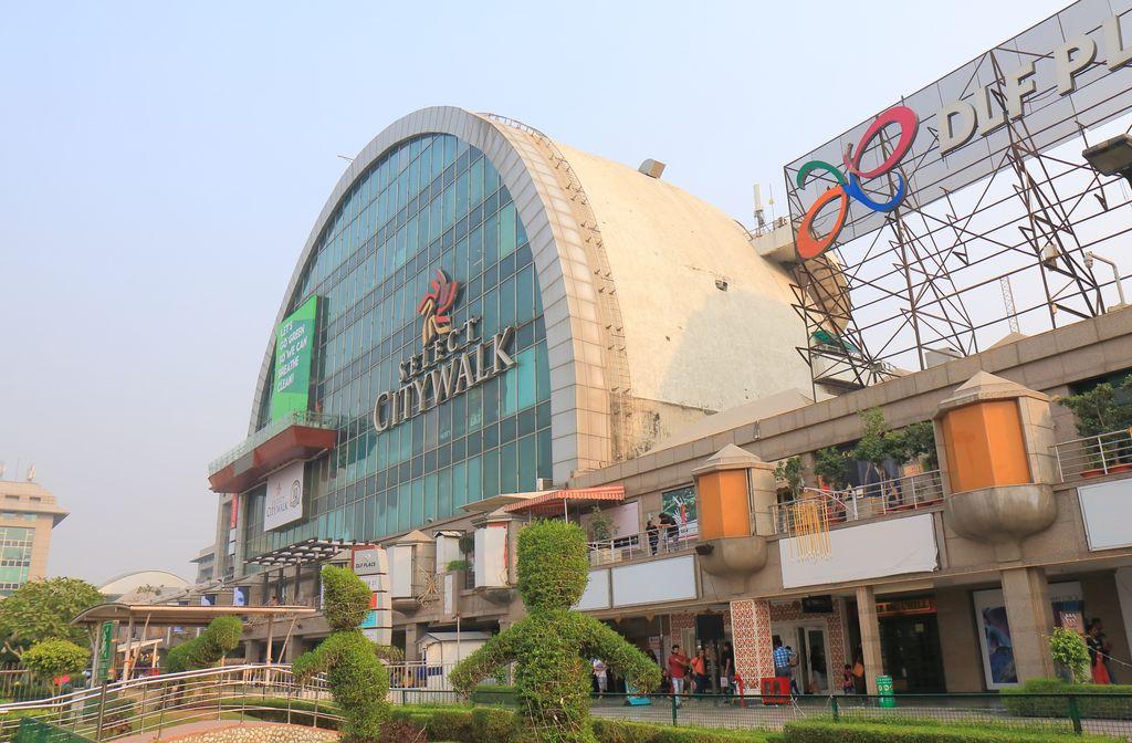 Citywalk shopping mall, new Delhi