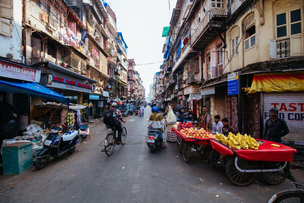Chor Bazaar in Mumbai, India