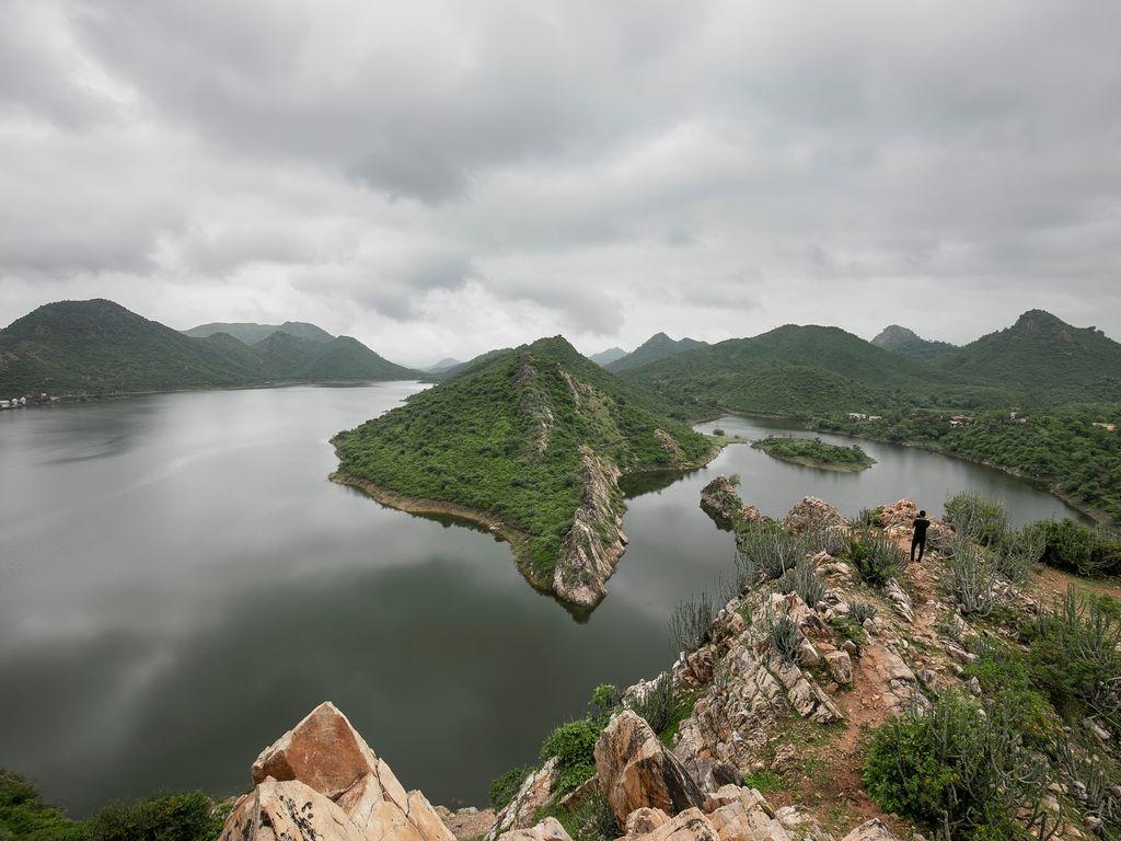 Lake Badi, India