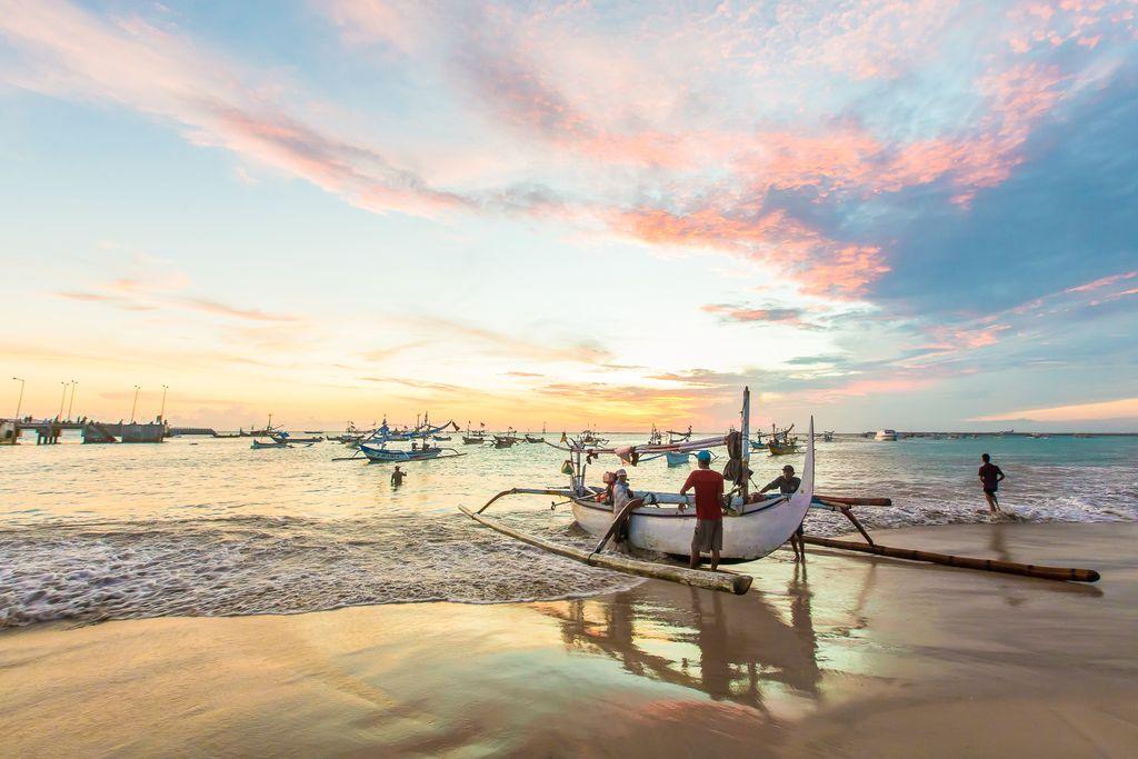 Jimbaran Beach, Indonesia