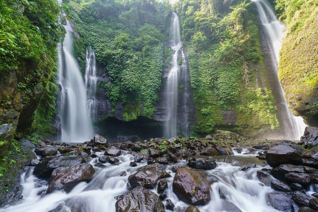 Sekumpul waterfall Indonesia