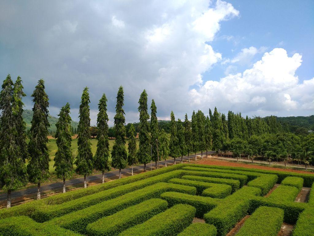 Taman Labirin, maze