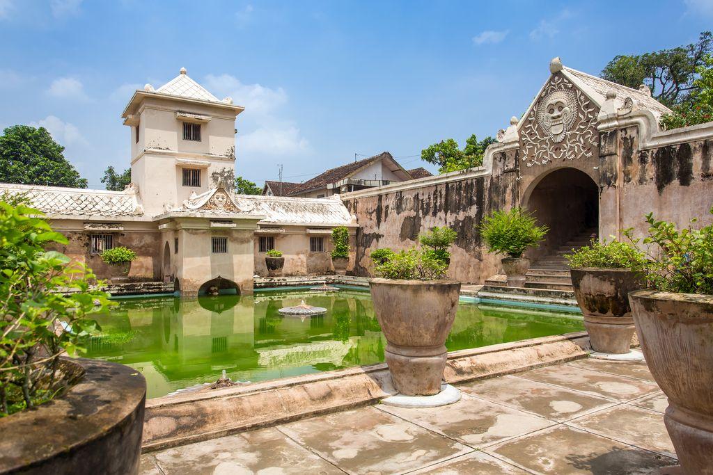 Taman Sari water palace of Yogyakarta