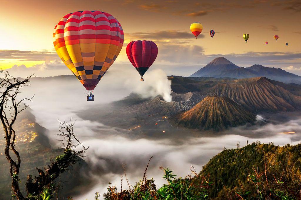 Hot air balloon Bali