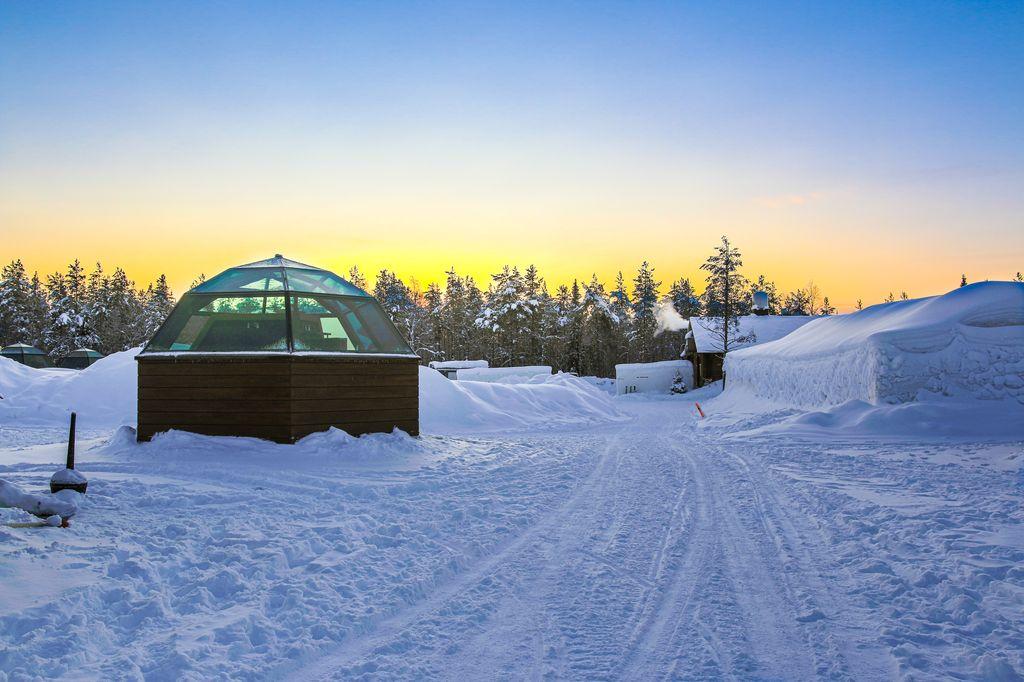 The Arctic Snow hotel