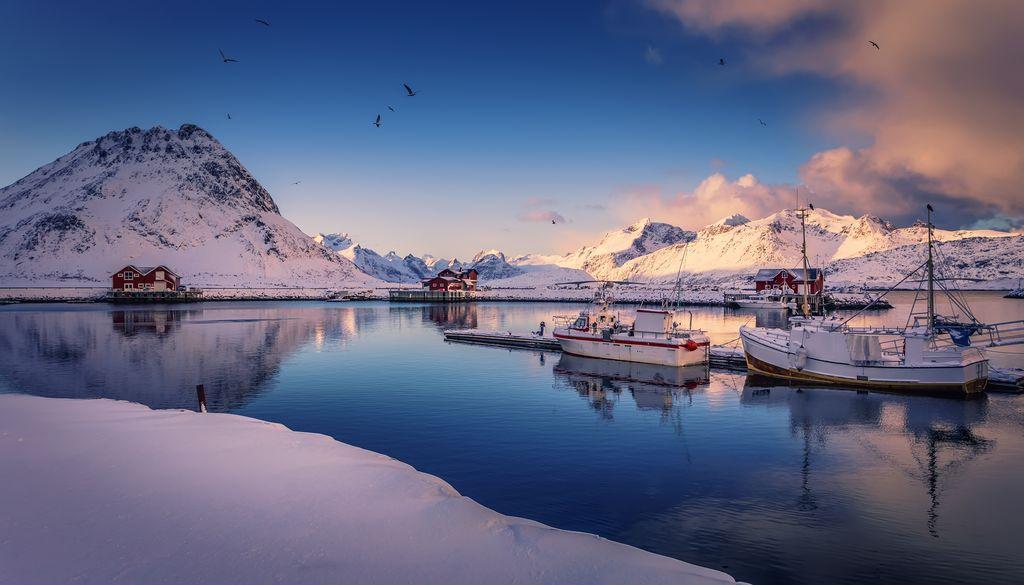 Lofoten islands. North Norway