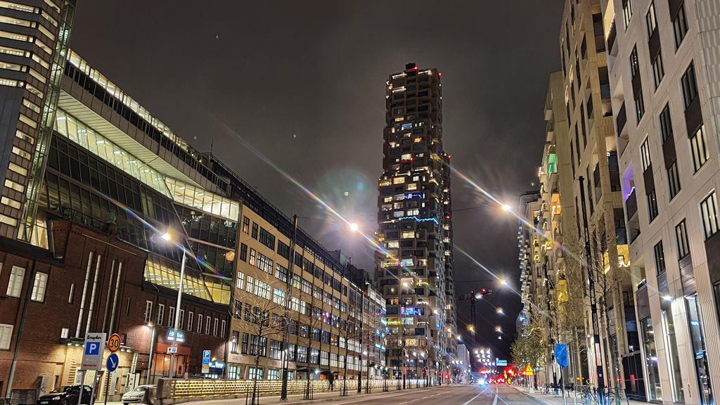 night time in Stockholm, Sweden