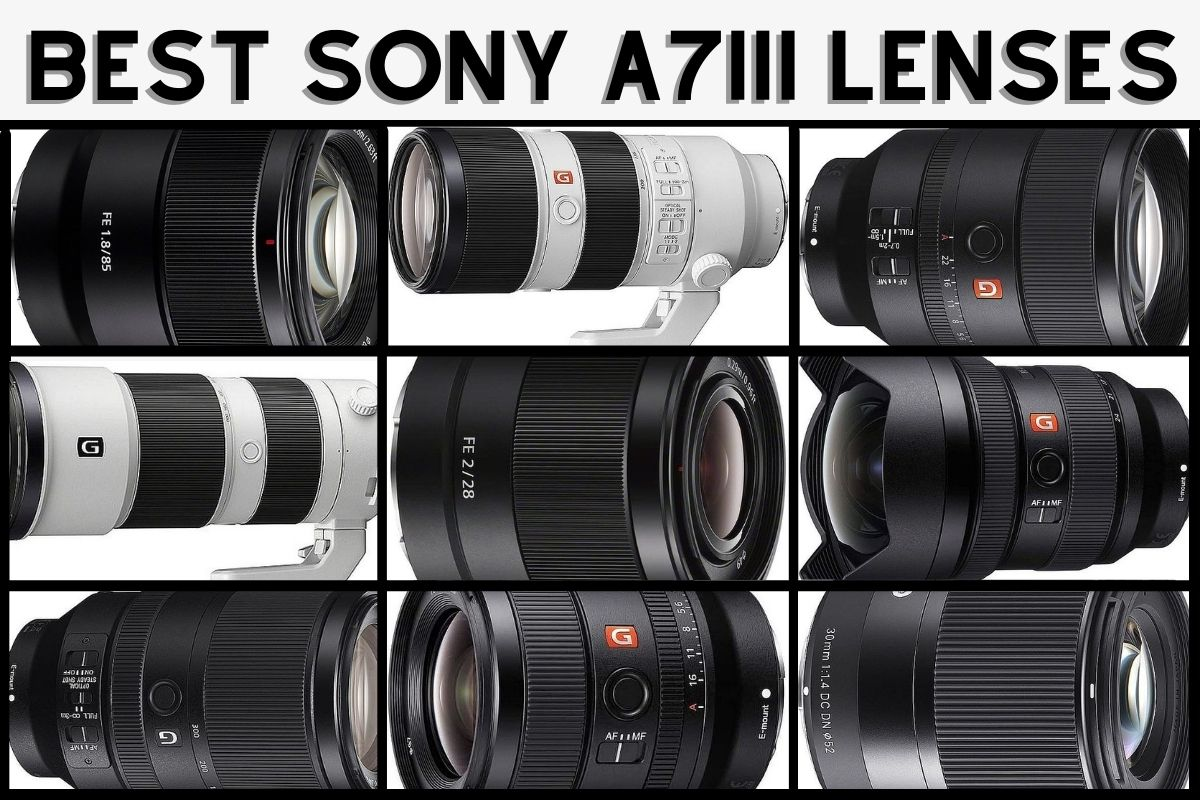 best lenses for Sony a7iii
