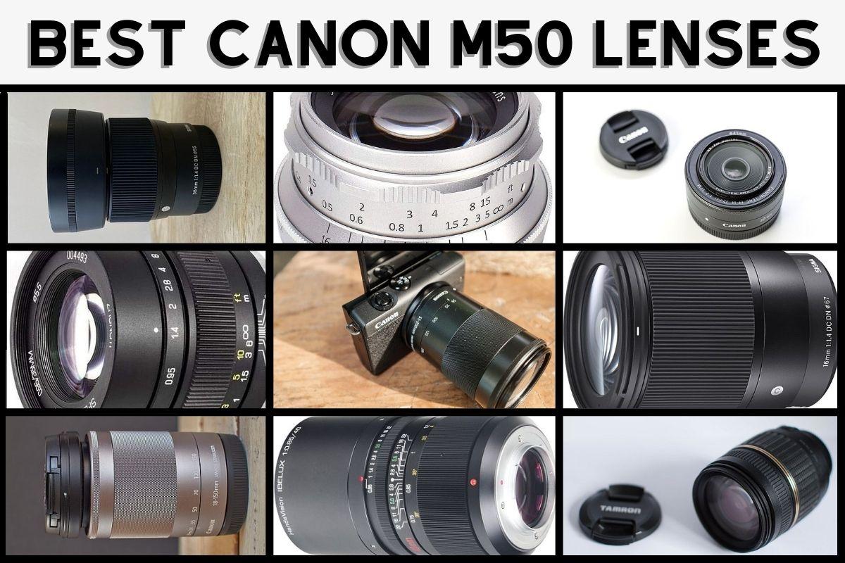 best lenses for Canon M50