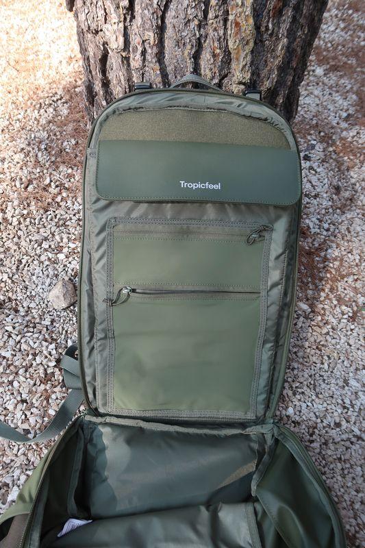 Inside Shell backpack