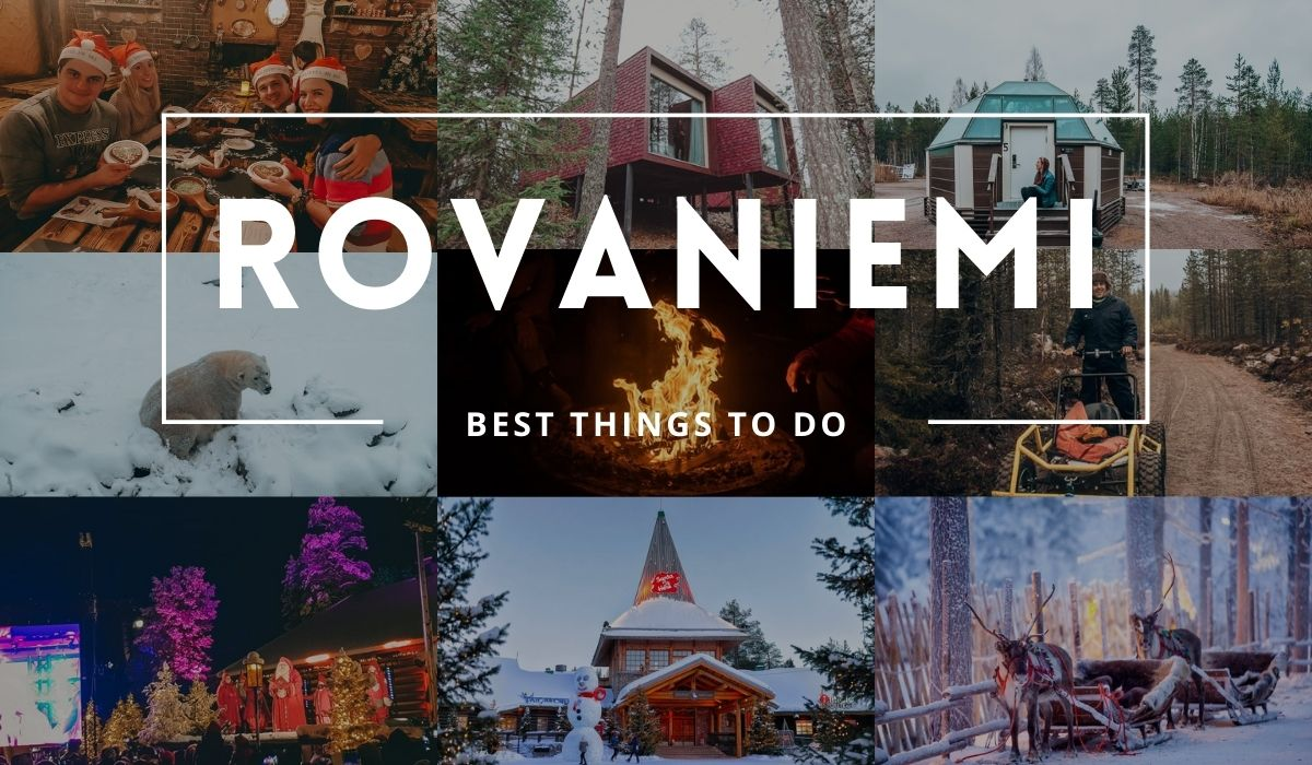 things to do in Rovaniemi Finland