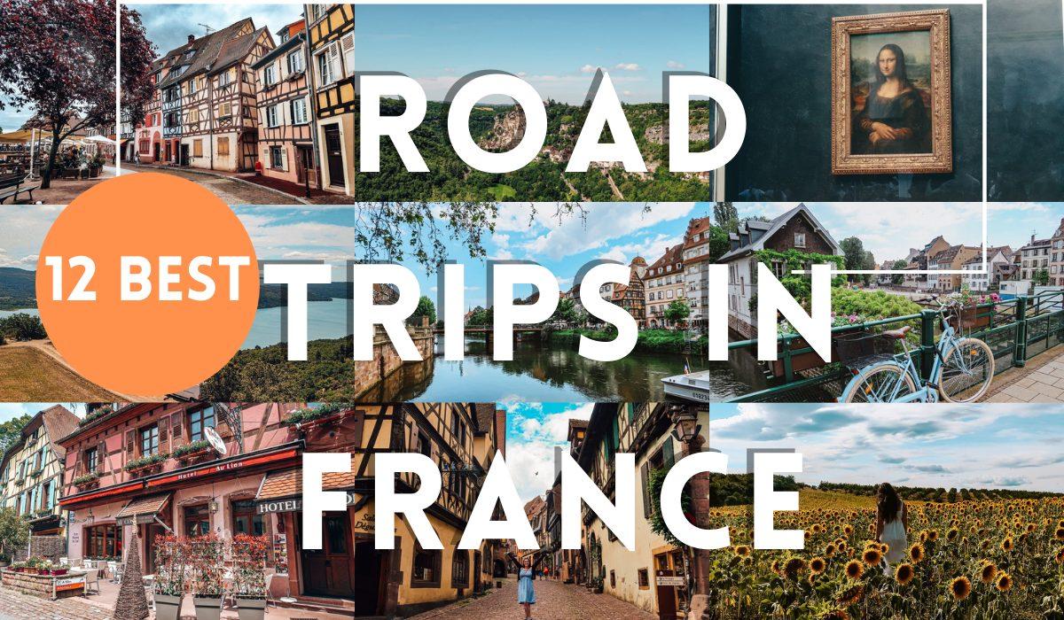 road trips in france