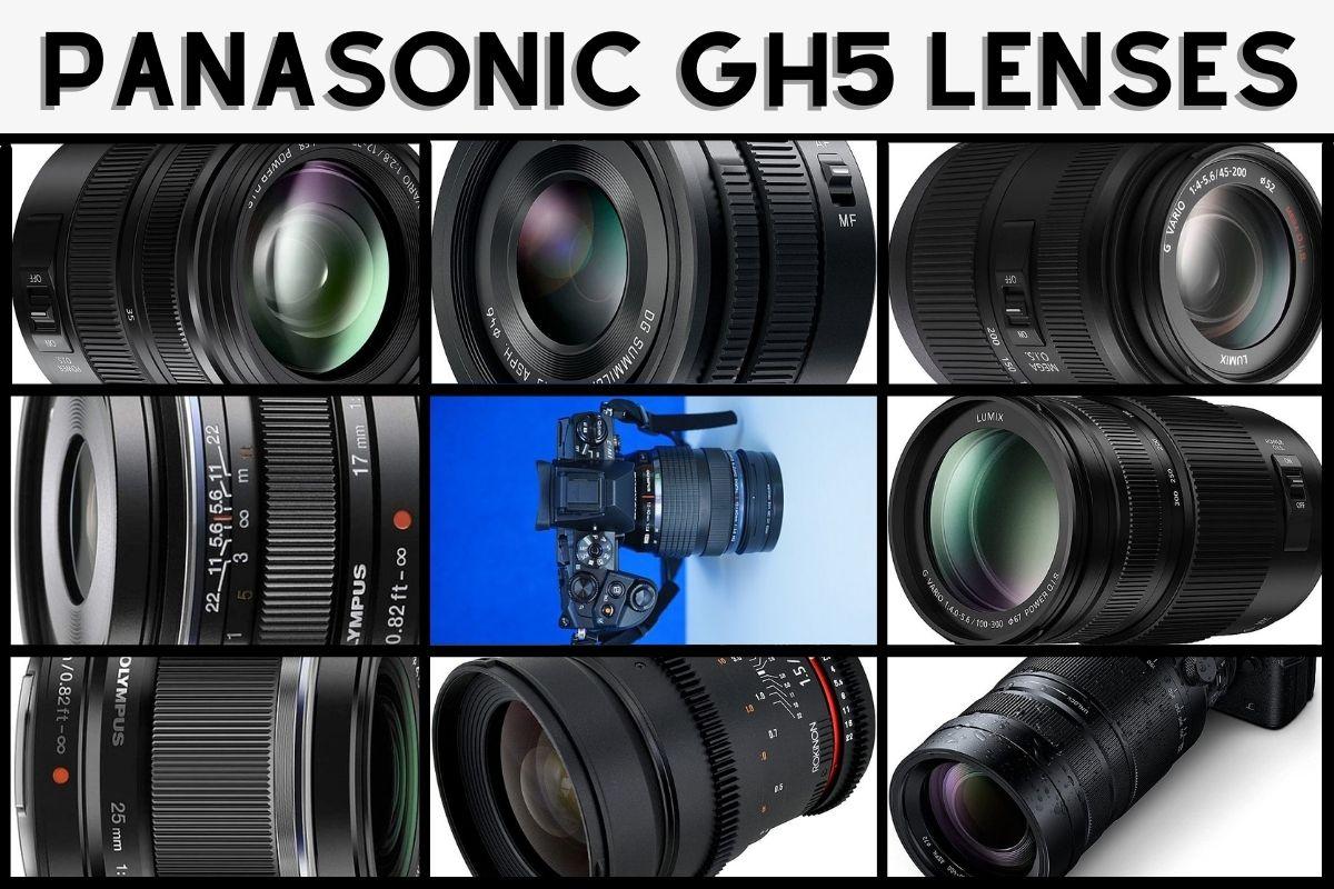 best lenses for Panasonic GH5