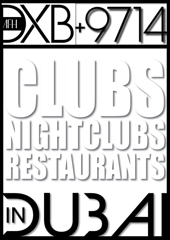 PDI Press - clubs, nightclubs, restaurants in dubai