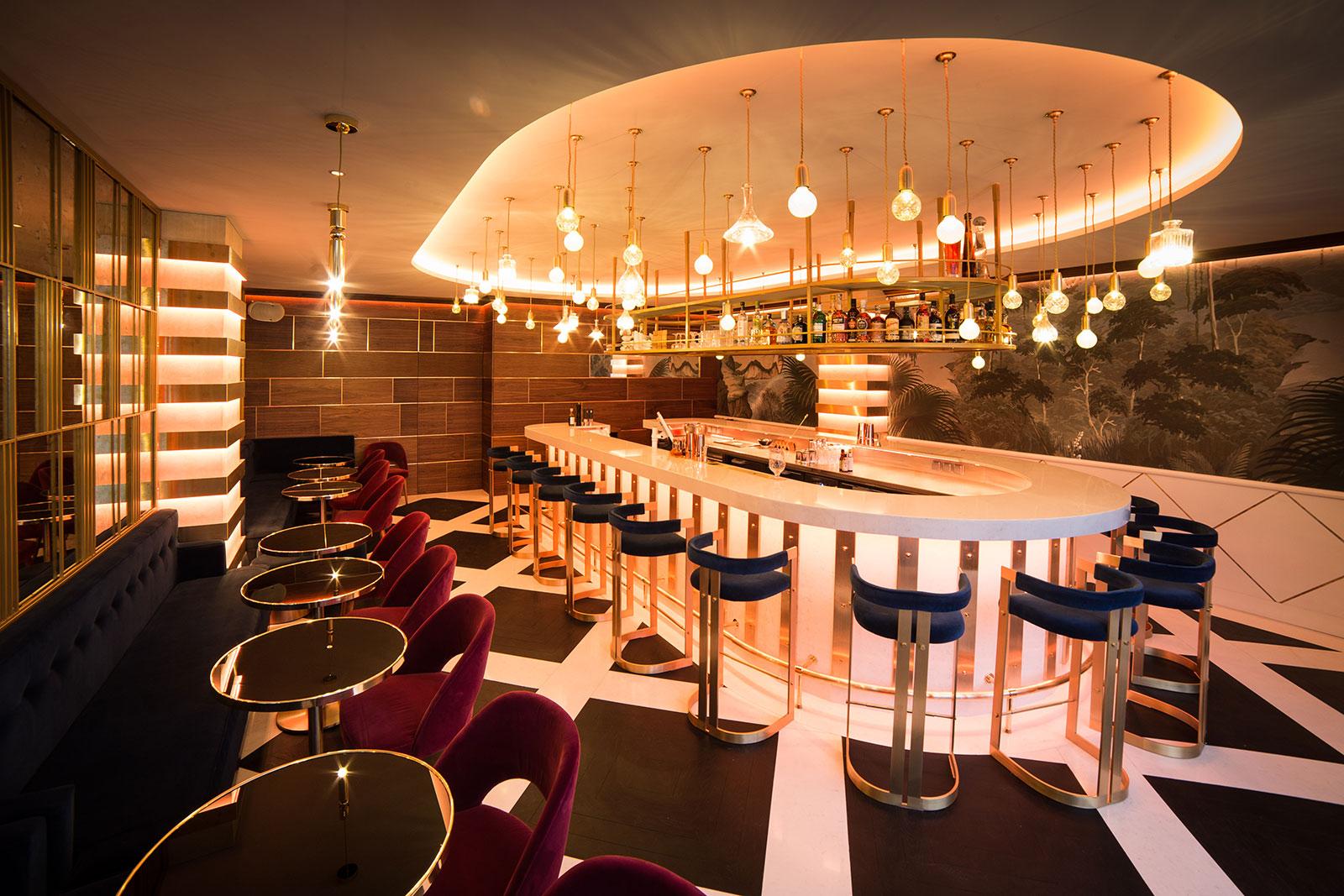 Restaurant Interior Design in Dubai Cannes PDI