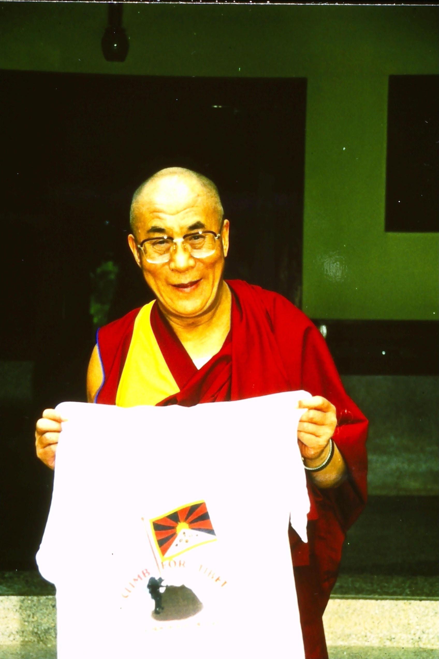 Dalai Lama - Climb for Tibet
