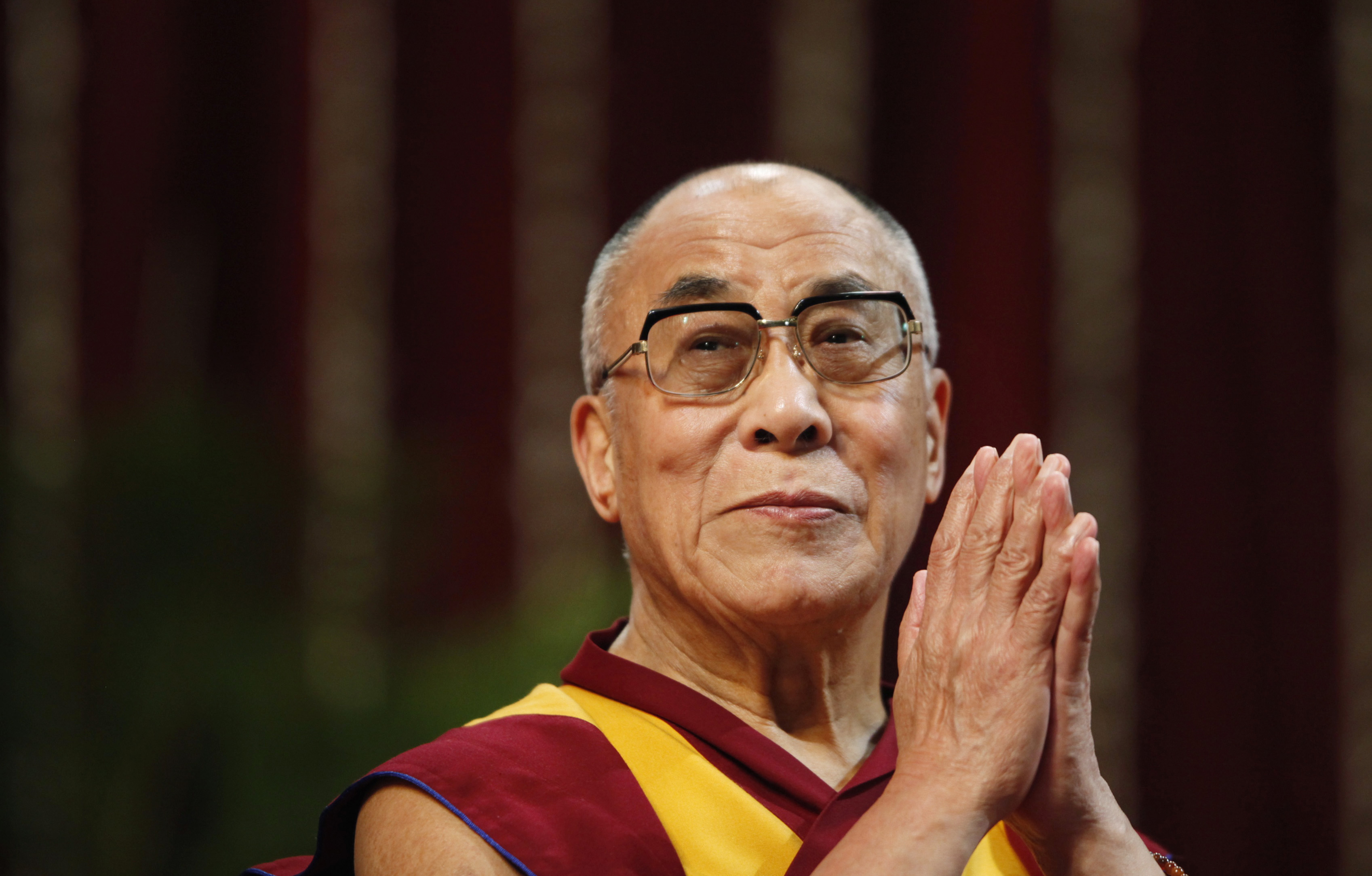 The Dalai Lama speaks
