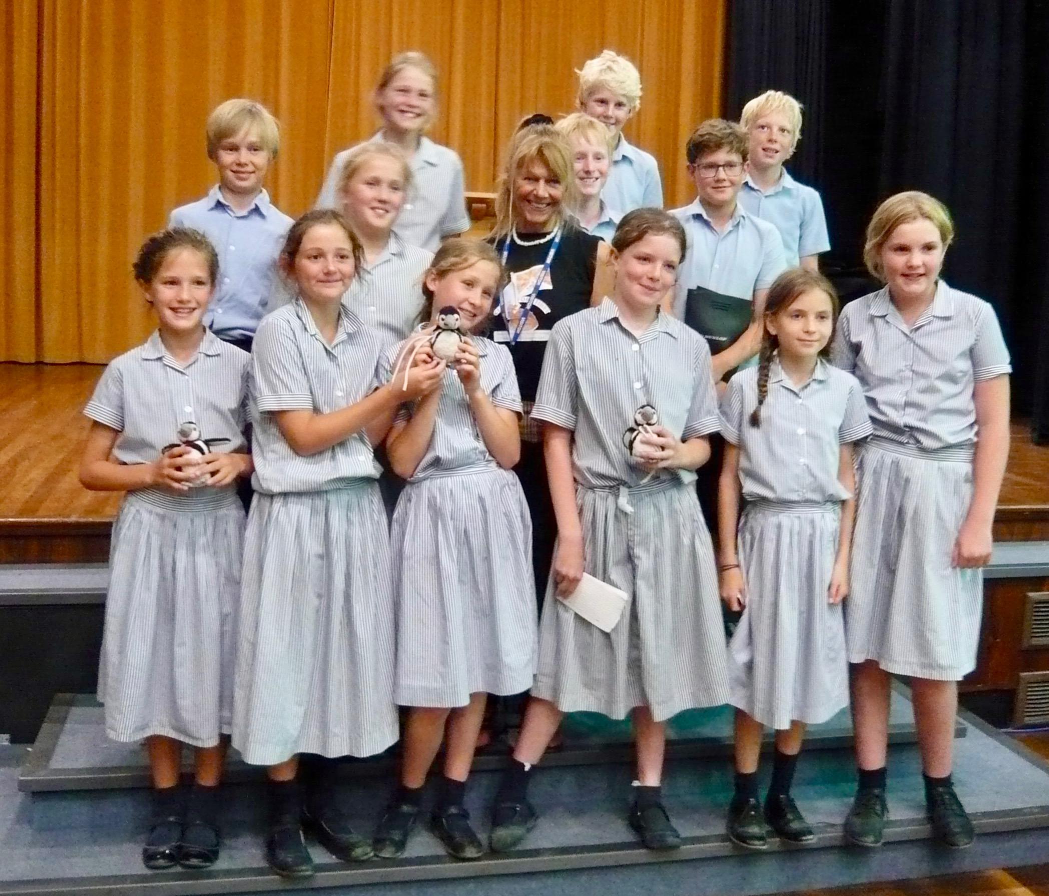 School Children Pledges