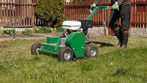lawn aerating, soil aeration, aerating grass