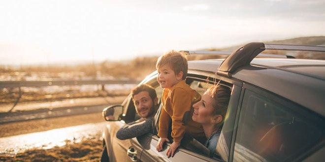 parents and son roadtrip