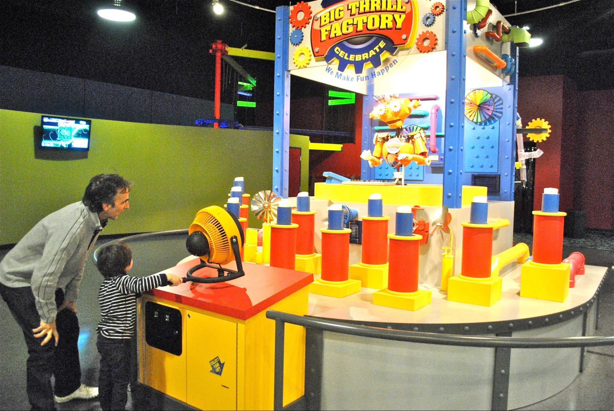 Big Thrill Factory Arcade