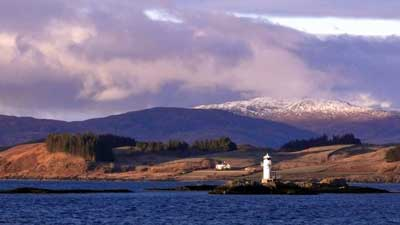 Port Appin Lighthouse, from Lismore