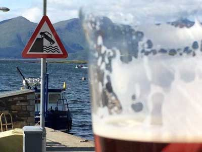 A Pint with a View!