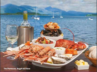 London commuters see what awaits their arrival at The Pierhouse - breathtaking scenery and fresh seafood to savour