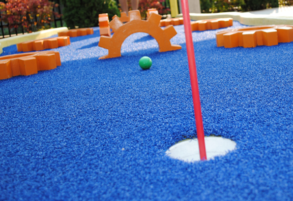big thrill factory mini golf