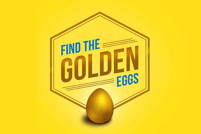 Find the Golden Eggs Easter Hunt