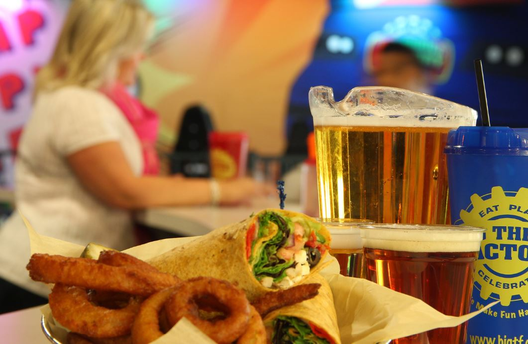 big thrill factory food