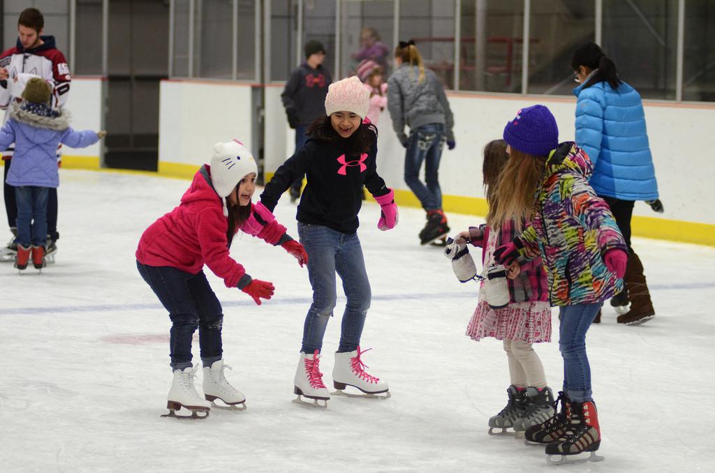 Ice skating minnesota