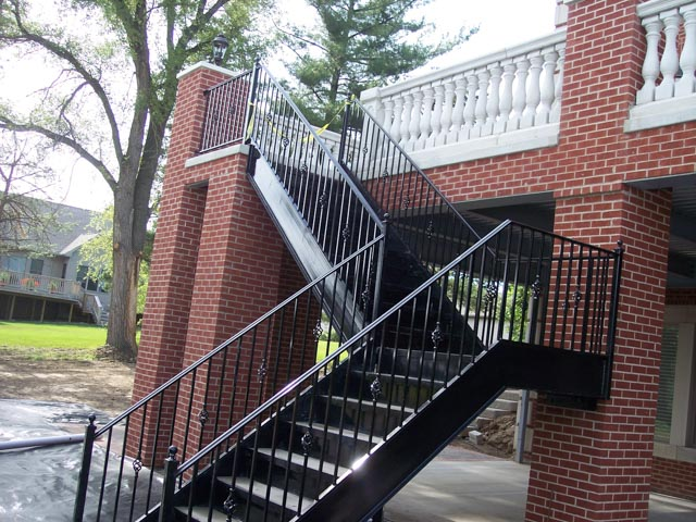 Diseños Ornamental Iron Detroit Custom Made stairs