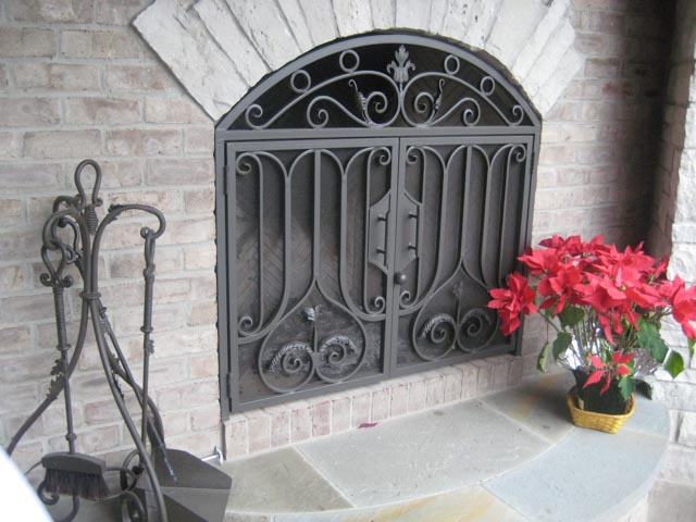 Diseños Ornamental Iron Detroit Custom Made grill
