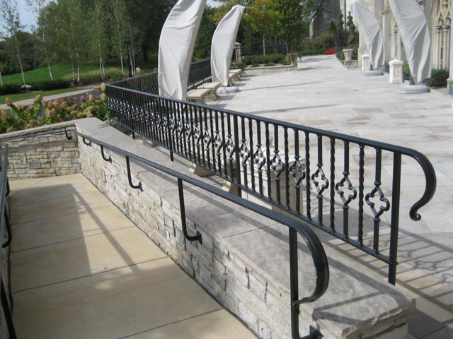 Diseños Ornamental Iron Detroit Custom Made rail