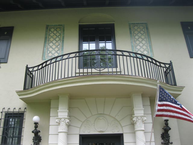 Diseños Ornamental Iron Detroit Custom Made rail balcony