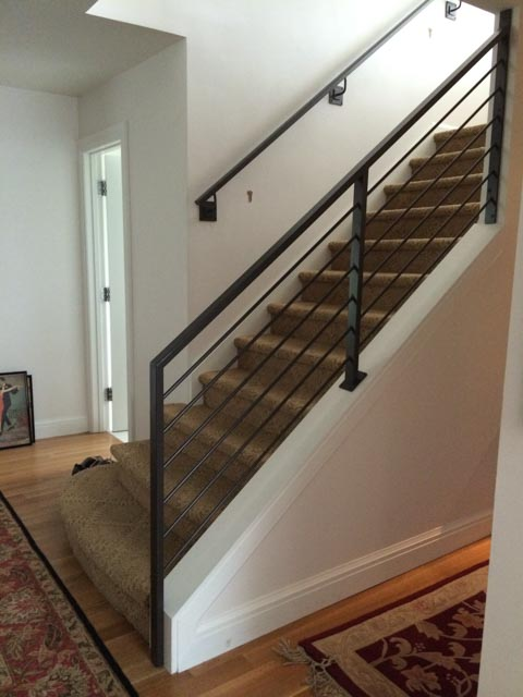 Diseños Ornamental Iron Detroit Custom Made rail indoor