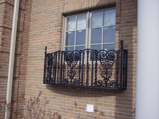 Diseños Ornamental Iron Detroit Custom Made balcony