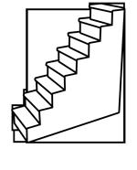 icone meuble escalier