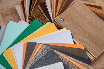 palette coloris meuble