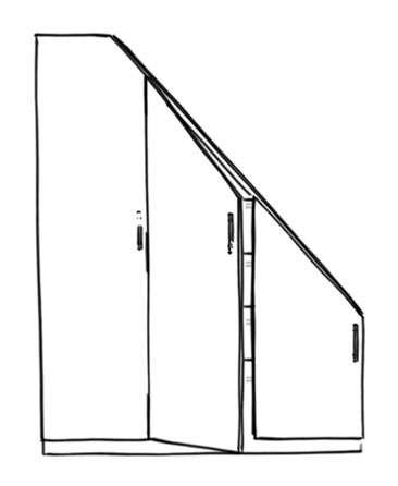 icone meuble sous escalier